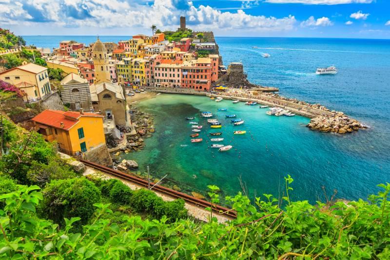 Italia Refinada: Cinqueterre, Piemonte & Milao