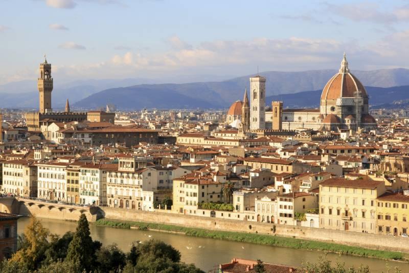 Bem-vindos a Florença