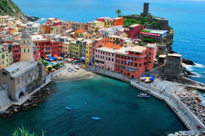 Cinque Terre Hiking & Wine Tour From La Spezia
