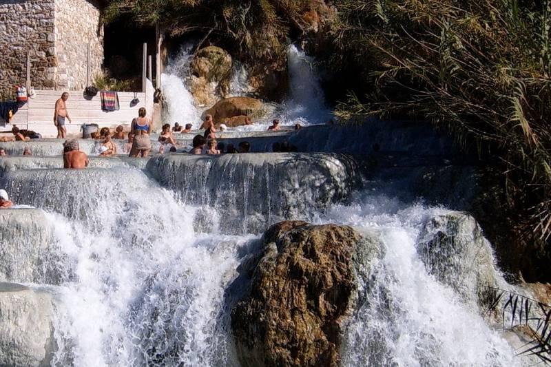 "Saturnia ""Hot Waterfalls"