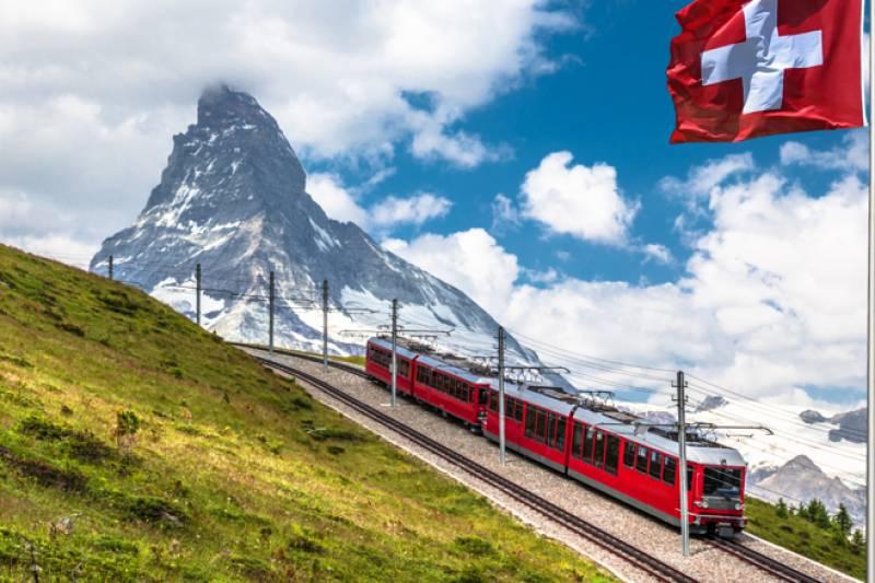 Bernina Express & Saint Moritz